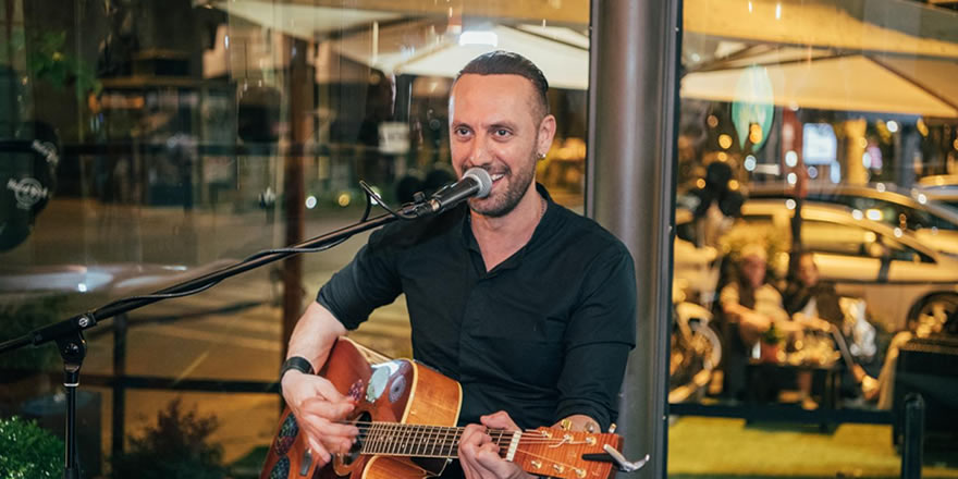 Late Night Happy Hour: Franck Polucci live all\'Hard Rock Cafe di Roma